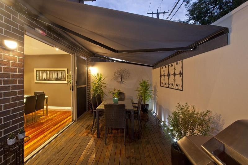 Designing an outdoor area for limited space and limited budget