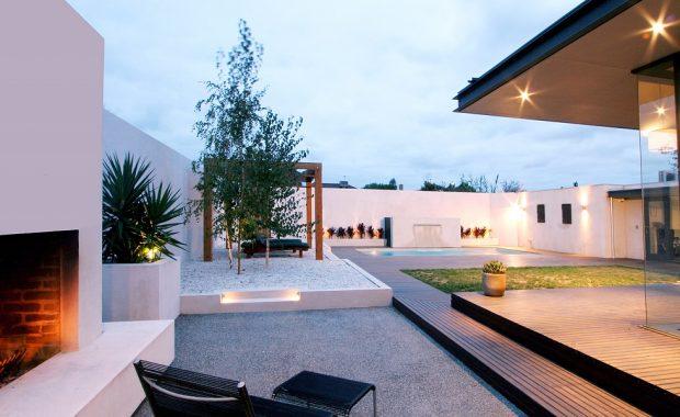 Award winning Landscape Design for Home renovation