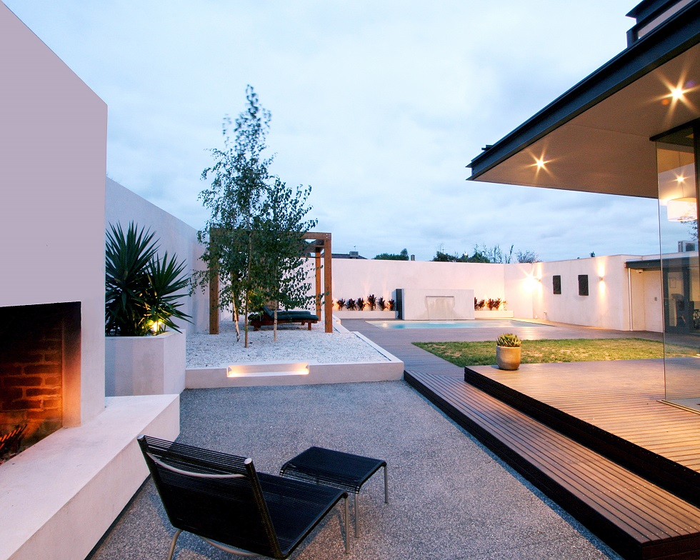 Award winning Landscape Design for Home renovation