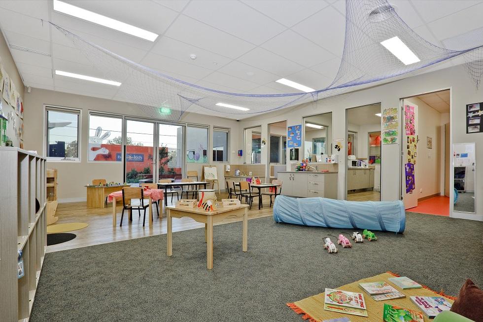 Childcare centre indoor design